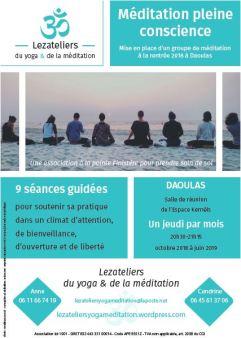 Affiche méditation image web